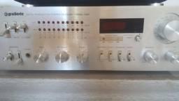 Aparelhos de som Gradiente (Tape deck/ Receiver Model 1450)