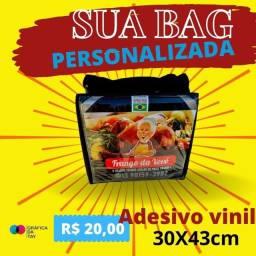 Título do anúncio: bag adesivo personalizado
