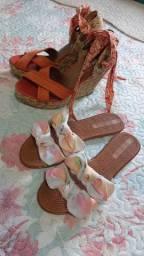 Vendo chinelo novo moleca e sandália