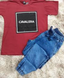 Título do anúncio: Camisa + Calça jogger