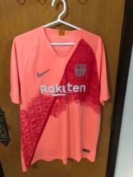Título do anúncio: Camisa do Barcelona tamanho gg temp 18/19
