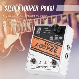 Pedal Guitarra Looper Stereo Ammoon