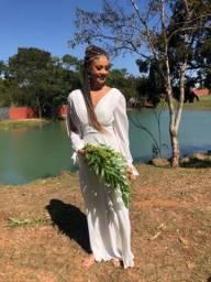Vestido de noiva civil branco