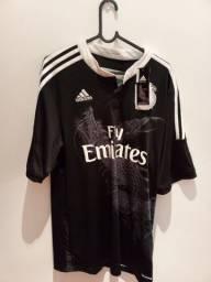 """Título do anúncio: Terceira Camisa """"Dragão"""" Original Nova Real Madrid Sergio Ramos Com Etiqueta"""