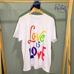 Camisa Love is Love - Lgbtqia+