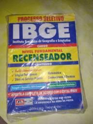 VENDO APOSTILA DO RECENSEADOR DO IBGE 2021...