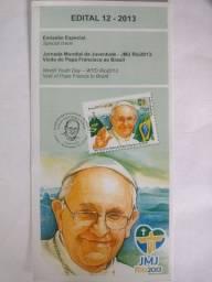 Edital Selo 12-2013.  Papa Francisco
