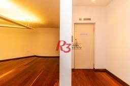 Título do anúncio: Apartamento com 3 dormitórios para alugar, 192 m² - Aparecida - Santos/SP