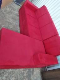 Sofa com Chaise Novo