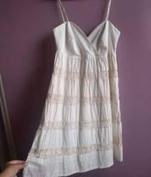 Vestido de verão branco(novo)