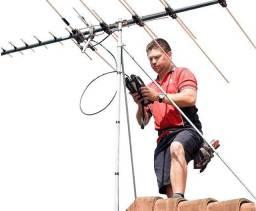 Título do anúncio: Coletiva de antenas UHF - Instalação de antenas UHF- Orçamento grátis