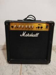 Título do anúncio: Amplificador Marshall MG15CD