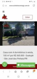 Título do anúncio: Vende se casa em São  José dos pinhais