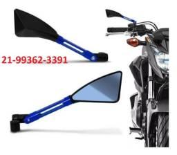 Título do anúncio: Retrovisor Moto Esportivo Tomok Cb300 Fazer  Fan
