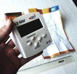 Identificador de Chamadas - Marca T-Klar - Branco - Usado