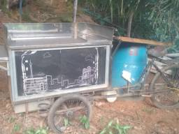 Triciclo  para vender  lanches