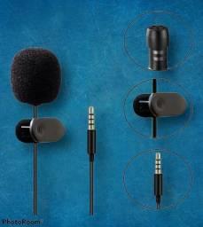 Microfone lapela completo grande promoção