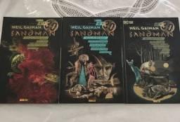 Título do anúncio: Coleção completa Sandman 01 a 10.