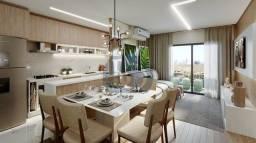 Título do anúncio: PROMOÇÃO - Apartamento de 2 dorms. com suíte, varanda e vaga livre - 56m² - Em construção