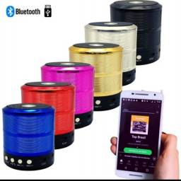 Caixa de Som Bluetooth Portatil Usb Sd Fm<br>