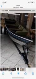 Título do anúncio: Barco motor e carreta
