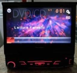 Dvd pioneer tudo funcionando udb,auxiliar,dvd,cd,entrada para camera de ré