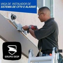 Título do anúncio: Vaga de Instalador técnico em segurança eletrônica - Com experiência!