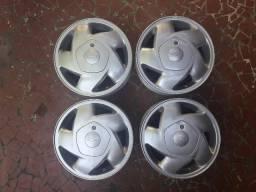 Jogo de Rodas Aro 14 Originais Chevrolet_Aceito Cartão/Troca