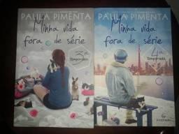 Livros- Minha Vida Fora de Série, 3° e 4° Temporada