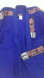 Kimono novo azul e branco
