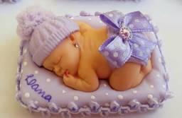 Lembrancinhas de luxo chá de bebê