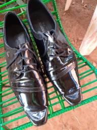 Sapato social marca ton couro legítimo número 43