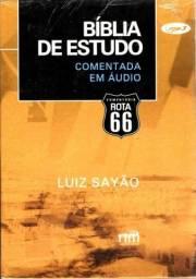 Bíblia De Estudo Comentada Em Áudio Mp3 Luiz Sayão Rota 66!
