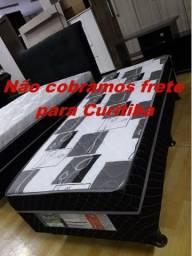 Cama box solteiro espuma - Não cobramos frete para Curitiba - Novo - ENTREGAMOS HOJE!!!