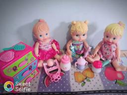 Boneca baby a live original e little mamy