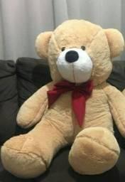 Urso gigante apenas 1 laço rosa