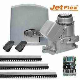 Kit motor portão eletrônico deslizante ppa dz predial jet flex 1/2 hp