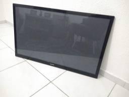 Tv Samsung queimada