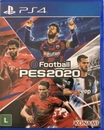 Pes 2020 PS4 vendo ou troco