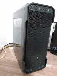 CPU Gamer Intel i3-7100, memória 8Gb DDR4, placa de vídeo Geforce GTX 1050, HD 1 Tb