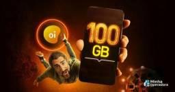 Internet 100gb no seu numero oi pre