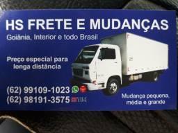 Mudanças e fretes Goiânia interior e todo Brasil