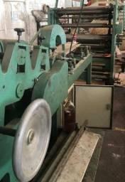 Maquina sos 030 ac para fabricar sacos e sacolas de papel e tubos 03 cores