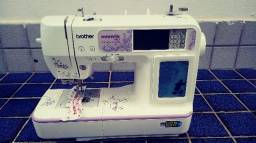 Maquina de bordar e costurar nv 950D