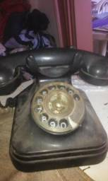 Telefone antigo funciona ano 70