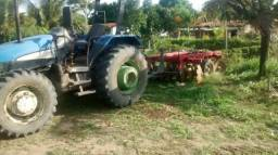 Trator New Holland ano 2005 TL 95