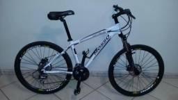 Bike top freio hidraulico shimano aeros 26 conjunto acera de 27 vel bicicleta top nota fl