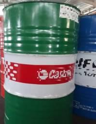 Tambor de óleo vazio metalico 200l - Tampa fixa (ótimo estado)