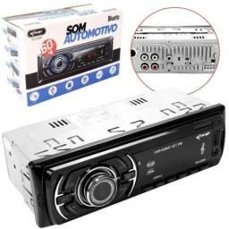 (FRETE GRÁTIS) Som Automotivo Bluetooth Cartão SD/ Pen Driver/ AUX 99864-4141