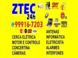 Cerca,Motor,Antenas,Eletricista 24h